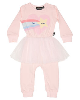 PINK KIDS BABY ROCK YOUR BABY CLOTHING - BGB20126-LYPINK