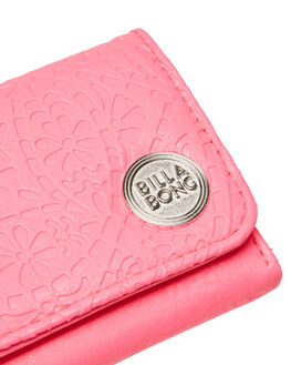 NEON PINK WOMENS ACCESSORIES BILLABONG PURSES + WALLETS - 6685228SBNEOPK