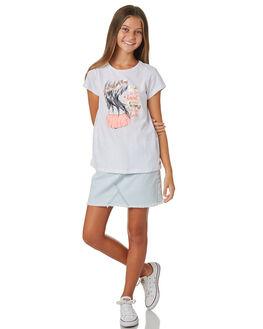 WHITE KIDS GIRLS EVES SISTER TOPS - 9920013WHT