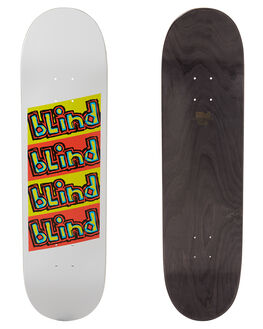 WHITE SKATE DECKS BLIND  - 10011553WHT