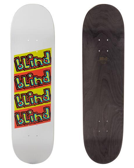 WHITE SKATE DECKS BLIND  - 10011553WHT