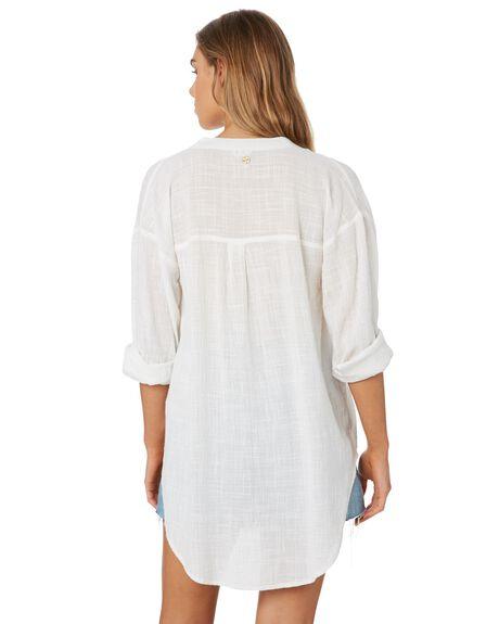 WHITE WOMENS CLOTHING RIP CURL FASHION TOPS - GSHFQ11000