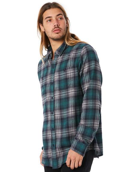 NAVY MENS CLOTHING EZEKIEL SHIRTS - EL174052NAVY