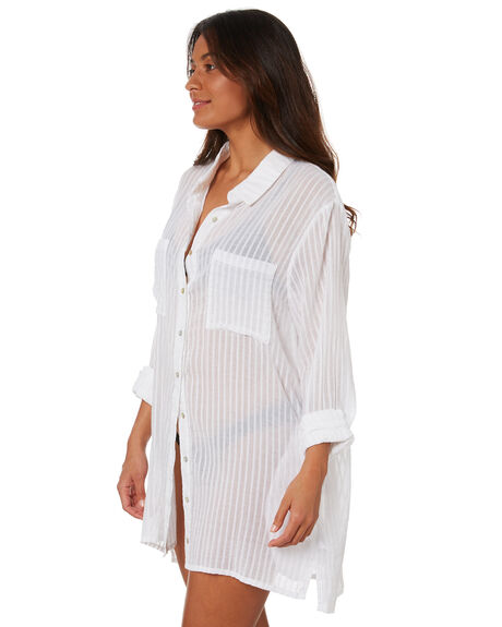 WHITE WOMENS CLOTHING RUSTY DRESSES - SCL0339WHT