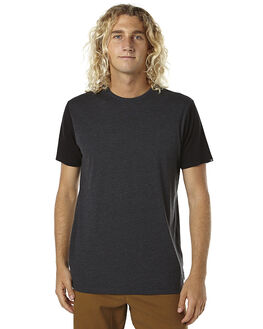 BLACK HEATHER MENS CLOTHING BILLABONG TEES - 9561030BLKH