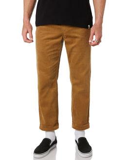 MOCHA MENS CLOTHING THE CRITICAL SLIDE SOCIETY PANTS - PT1824MOC