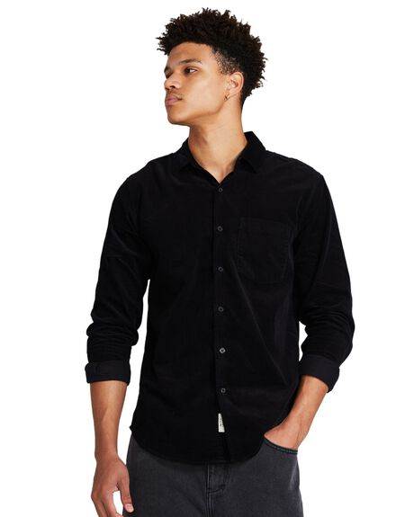 BLACK MENS CLOTHING ARVUST SHIRTS - 35600000026