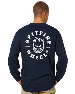 NAVY MENS CLOTHING SPITFIRE TEES - 52010060NVY