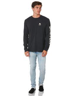 TRUE BLACK MENS CLOTHING BURTON TEES - 203921001