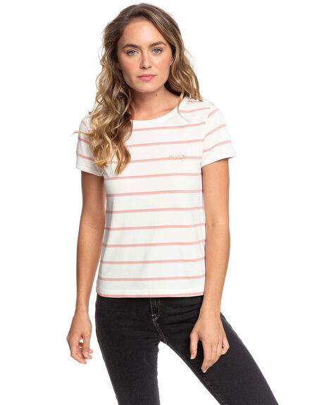 TERRA COTTA WOMENS CLOTHING ROXY TEES - ERJKT03653-XWPM
