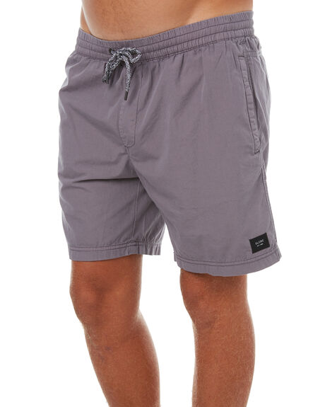 GREY MENS CLOTHING GLOBE SHORTS - GB01316007GRY