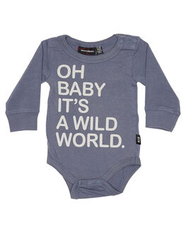 GREY KIDS BABY ROCK YOUR BABY CLOTHING - BGB1812-OBGRY