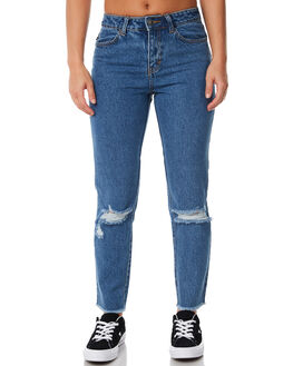 GRIND BLUE OUTLET WOMENS RUSTY JEANS - PAL1047GDB