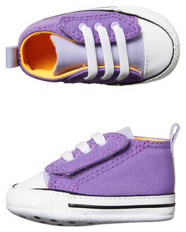 BRIGHT VIOLET KIDS BABY CONVERSE FOOTWEAR - 857433BRV
