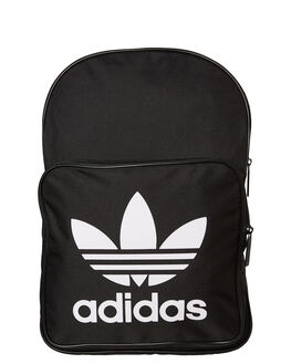 BLACK WHITE MENS ACCESSORIES ADIDAS BAGS + BACKPACKS - DW5185BLK