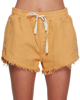 CURRY WOMENS CLOTHING BILLABONG SHORTS - BB-6507276-CUR
