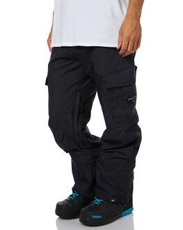BLACK SNOW OUTERWEAR QUIKSILVER PANTS - EQYTP03047KVJ0