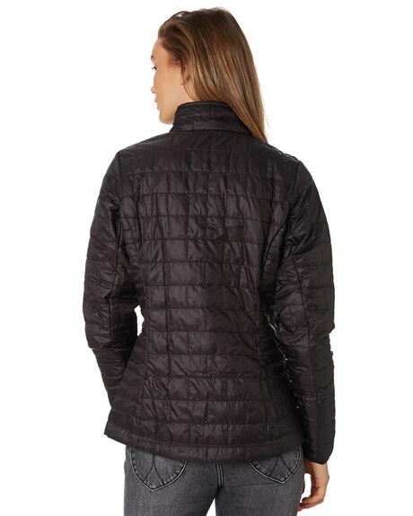 BLACK WOMENS CLOTHING PATAGONIA JACKETS - 84217BLK