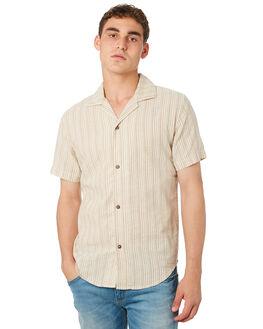 COFFEE MENS CLOTHING RHYTHM SHIRTS - OCT18M-WT06-COF