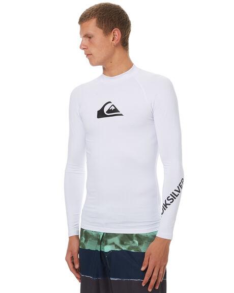 WHITE SURF RASHVESTS QUIKSILVER MENS - UQYWR03025WBB0