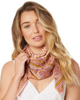 PEACH WOMENS ACCESSORIES BILLABONG SCARVES + GLOVES - 6682537APCH