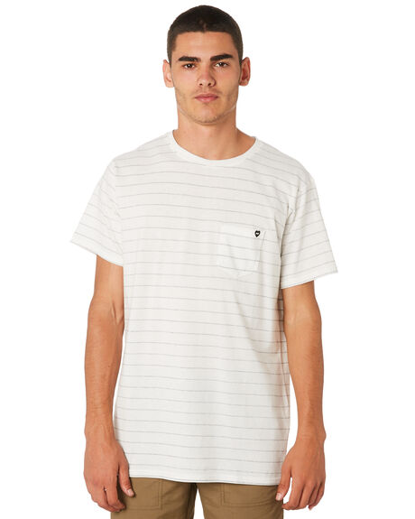 OFF WHITE OUTLET MENS BANKS TEES - WTS0324OWH