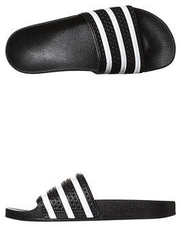 5e951c57adf5 BLACK WHITE BLACK WOMENS FOOTWEAR ADIDAS SLIDES - SS280647BLKW