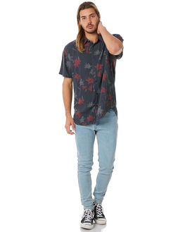 DEEP NAVY MENS CLOTHING AFENDS SHIRTS - M183200DNVY