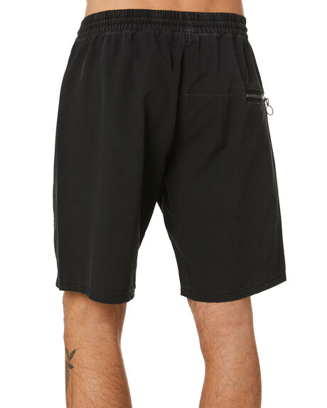 AGED BLACK MENS CLOTHING FORMER BOARDSHORTS - FBO-21303AGBLK