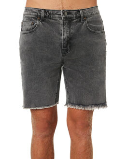 STONE BLACK MENS CLOTHING RUSTY SHORTS - WKM0938STB