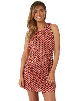 MULTI WOMENS CLOTHING TIGERLILY DRESSES - T382433MUL