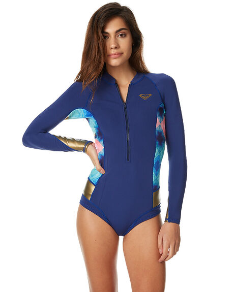 69a577d447b Roxy 2Mm Popsurf Gbs Frontzip Ls Springsuit - Blue Depths | SurfStitch