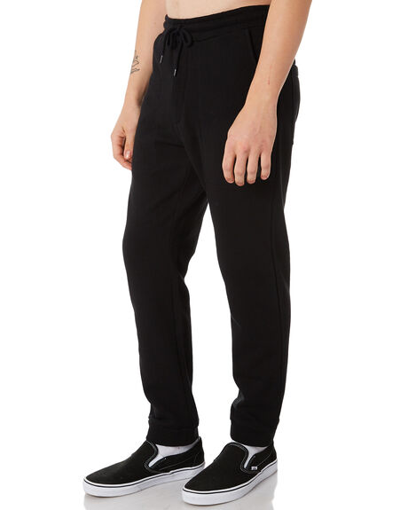 BLACK MENS CLOTHING GLOBE PANTS - GB01836004BLK