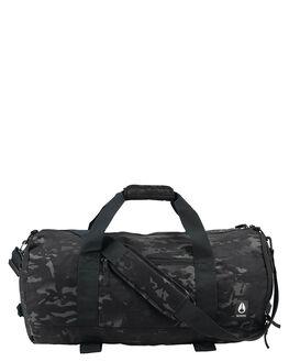 BLACK MULTICAM MENS ACCESSORIES NIXON BAGS + BACKPACKS - C29573015