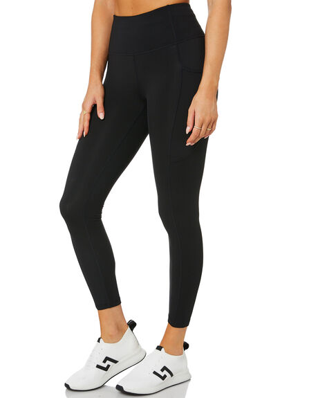 BLACK WOMENS CLOTHING SWELL ACTIVEWEAR - S8214531BLACK