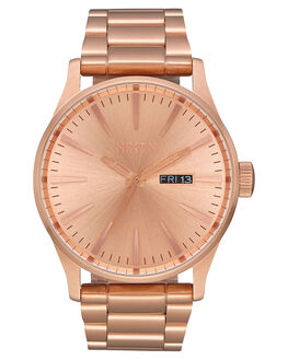 ROSE GOLD GUNMETAL MENS ACCESSORIES NIXON WATCHES - A356-897