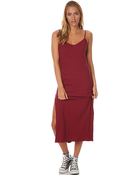 BERRY WOMENS CLOTHING RUSTY DRESSES - DRL0846BER