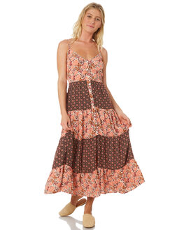 BLUSH WOMENS CLOTHING BAND OF GYPSIES DRESSES - WR335070-2769LPINK