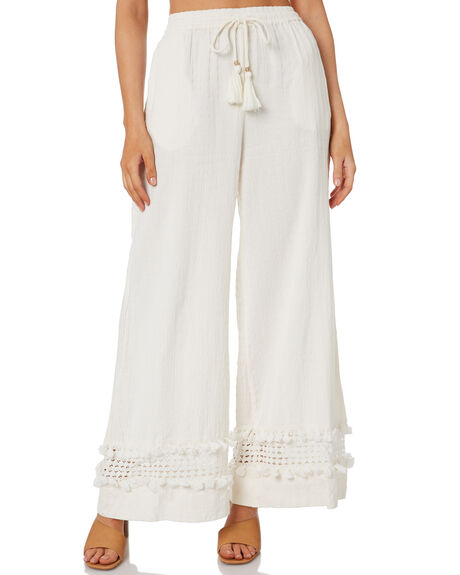 IVORY WOMENS CLOTHING TIGERLILY PANTS - T303385IVY