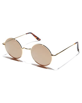 GOLD MENS ACCESSORIES SUNDAY SOMEWHERE SUNGLASSES - SUN125-GOL
