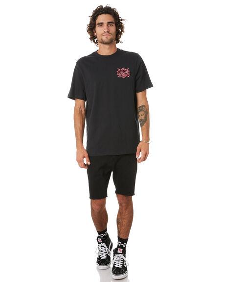 BLACK MENS CLOTHING VOLCOM TEES - A5002038BLK