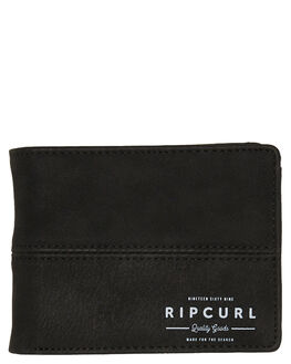 BLACK MENS ACCESSORIES RIP CURL WALLETS - BWUKK20090