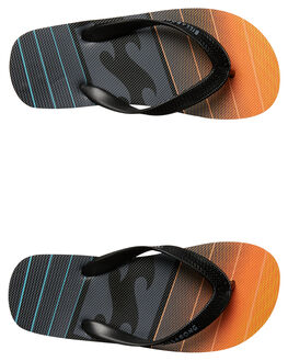 BLACK ORANGE KIDS TODDLER BOYS BILLABONG FOOTWEAR - 7672931BKOR