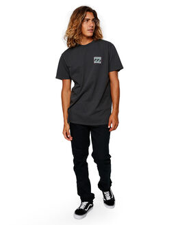 BLACK MENS CLOTHING BILLABONG TEES - BB-9592012-BLK