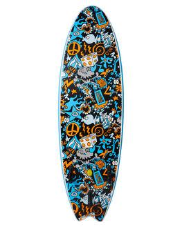 BLUE BOARDSPORTS SURF OCEAN AND EARTH SOFTBOARDS - SESO60GBLU