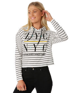STRIPE WOMENS CLOTHING ZOO YORK TEES - ZY-WLB8361STRI