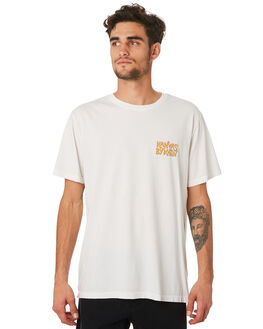 WHITE MENS CLOTHING KATIN TEES - TSLOU04WHT