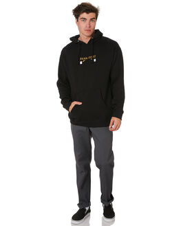 BLACK MENS CLOTHING PASS PORT JUMPERS - PPWAITERHDBLK