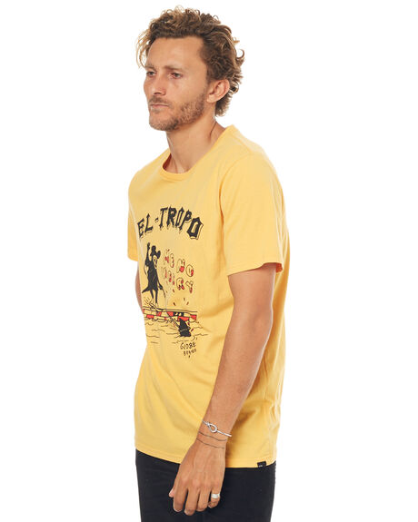 BUTTERMILK MENS CLOTHING GLOBE TEES - GB01720007BUT