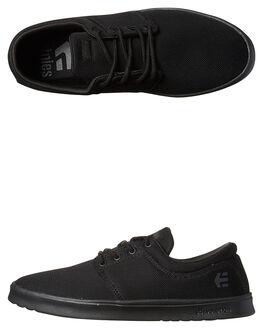 BLACK BLACK BLACK MENS FOOTWEAR ETNIES SNEAKERS - 4101000464004